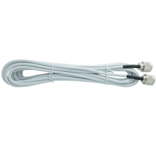 Wilson Electronics 20 ft White RG58 Cable Assembly w/ N-Male Connectors - 951148