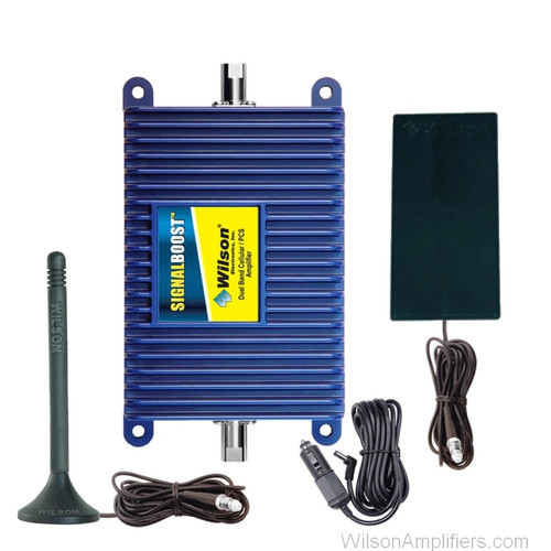 Wilson 811211 SignalBoost Direct Connection +25dB Amplifier Kit w/Antenna Dual Band, main image
