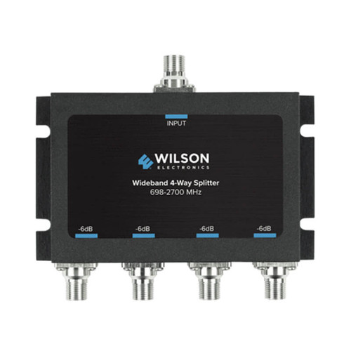 Wilson -6dB 4-Way Splitter 698-2700MHz, 75ohm - 850036