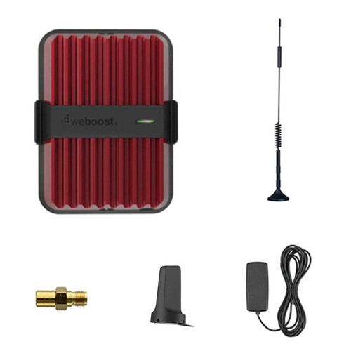 weBoost Drive Reach 12 Inch Antenna Bundle Cell Phone Signal Booster for Vehicles - 470154-12