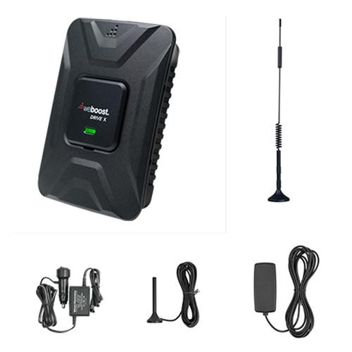 weBoost Drive X 12 inch Antenna Bundle Vehicle Signal Booster Kit- 475021-12