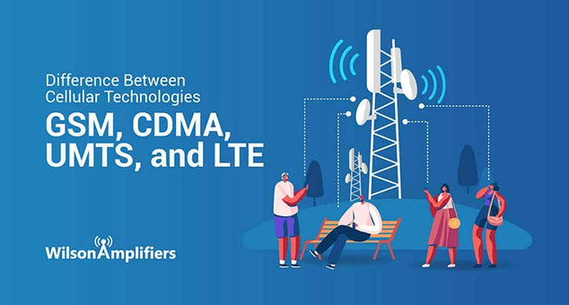 Difference Between Cellular Technologies: GSM, CDMA, UMTS, and LTE