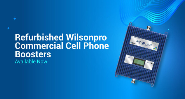 Refurbished WilsonPro Commercial Cell Phone Boosters Available Now
