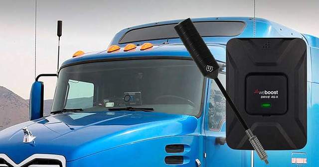 Trucker Cell Phone Signal Boosters: A Must-have Truck Accessory