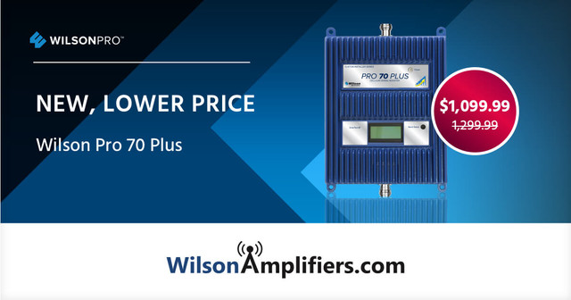 Great News: The WilsonPro 70 Plus is Now $1099.99!