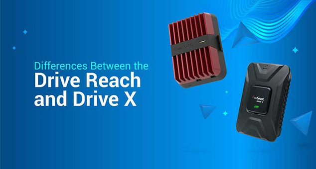 Differences Between the Drive Reach and Drive X