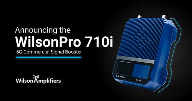 WilsonPro 710i: Wilson's First 5G Signal Booster for Businesses