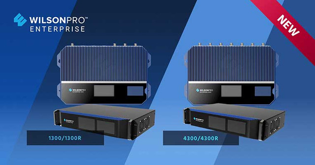 WilsonPro Enterprise 1300 and 4300: A New Generation of Signal Booster
