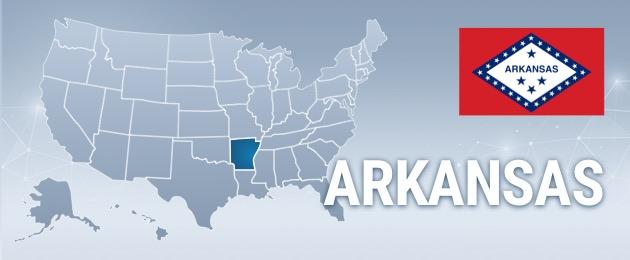 Arkansas USA Map