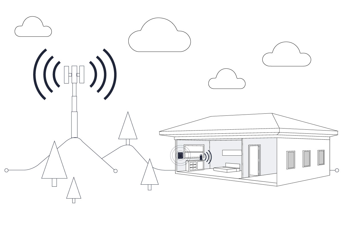Why Cellular Signal Boosters Cannot Work Outdoors