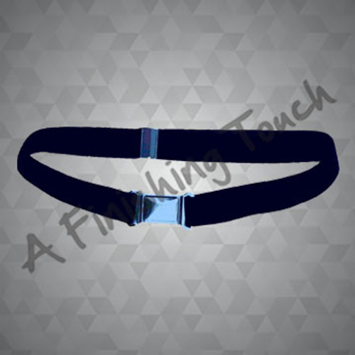 FT110- Adjustable Stretch Webbed Belt w/Magnetic Buckle