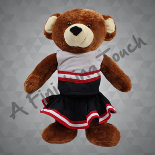 FT116- Cheerleader Doll/Bear Uniform-ON SALE!!