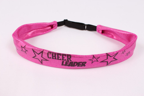 1011- Narrow Stretchy Cheerleader Sublimated Headband