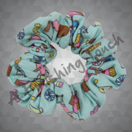 1316- Sublimated Scrunchie