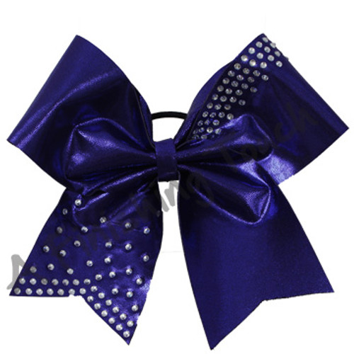 1343- Glitz bow with Premium Rhinestones