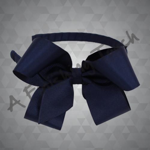 *1471- 5in Fluffy Bow on Medium Headband