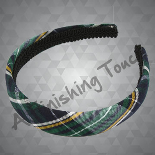 216- Plaid or Solid Padded Headband