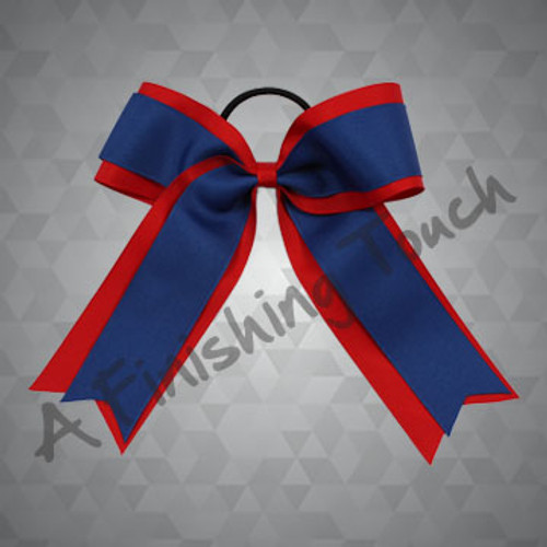 365- Two-Layer Basic Tailed Cheer Bow