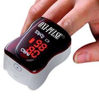 Oxi-Pulse 3520 Finger Pulse Oximeter