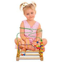 Roller Coaster Beaded Toy