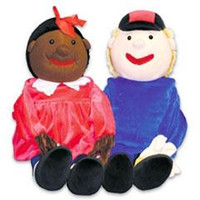 Giant Hand Puppets (Timmy and JoJo)