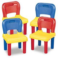 Colourful Children's Chairs