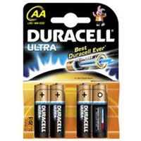 Duracell Plus AA Batteries x 4