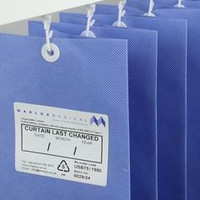 Marlux Anti-Bacterial Curtains 4.2 m Wide 1.95m Drop x 1