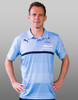 Sydney FC 16/17 Puma Adults Authentic Media Polo - Sky Blue