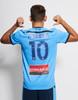 Sydney FC 19/21 UA Adults Home Jersey - Customised