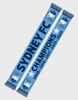 Sydney FC Five Times Champions Scarf
