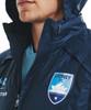 Sydney FC 21/22 UA Adults Rain Jacket Navy