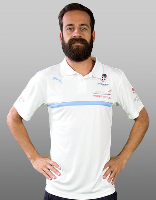 Sydney FC 16/17 Puma Adults Authentic Media Polo - White