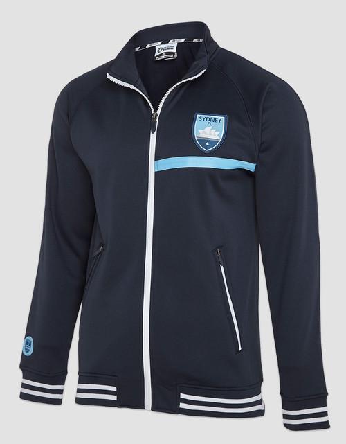 Sydney FC Adults Classic Navy Track Jacket