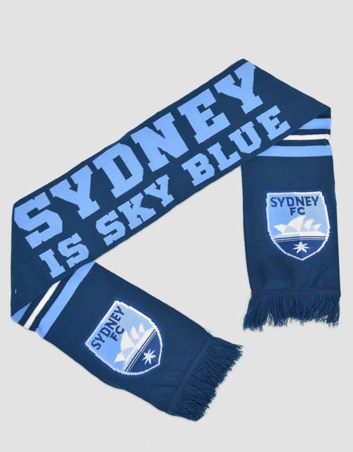 Sydney FC Sydney Is Sky Blue Scarf