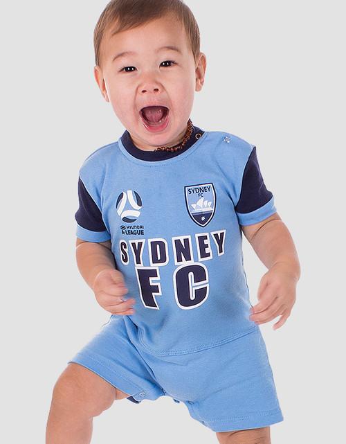 Sydney FC Babies Short Footysuit