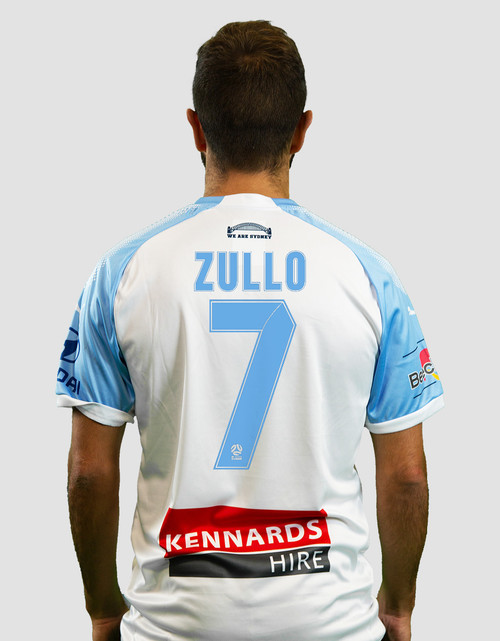 Sydney FC 18/19 Kids Away Jersey - Customised
