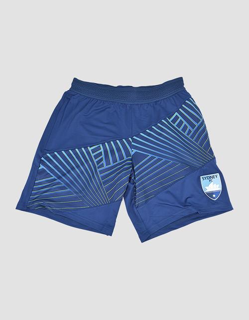 Sydney FC Adults Geo Squad Training Shorts