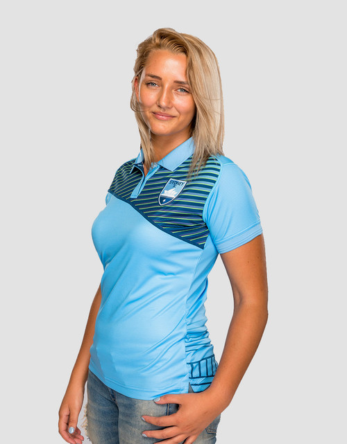Sydney FC Womens Geo Strike Polo