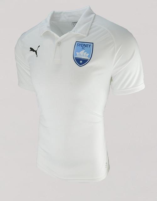 Sydney FC 18/19 Adults Club Polo White