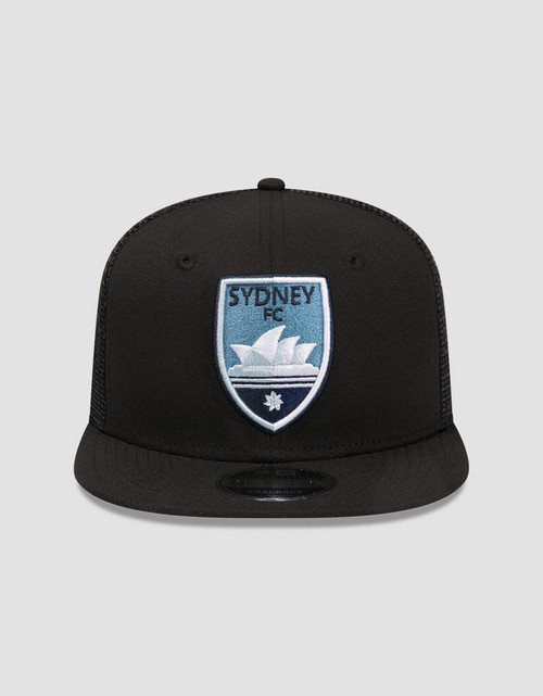 Sydney FC New Era 9FIFTY Black Trucker Cap