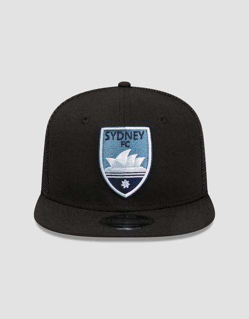 Sydney FC New Era 9FIFTY Black Trucker Cap