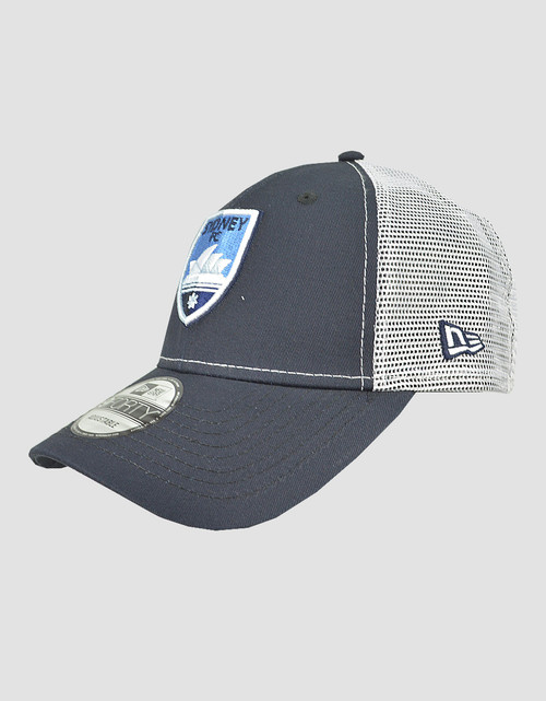 Sydney FC New Era 9FORTY Navy/White Trucker Cap