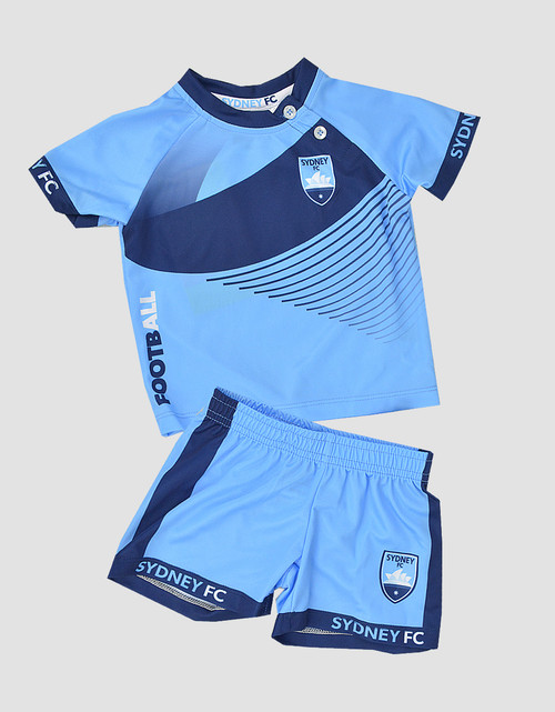 Sydney FC Infants Training Tee & Shorts Set
