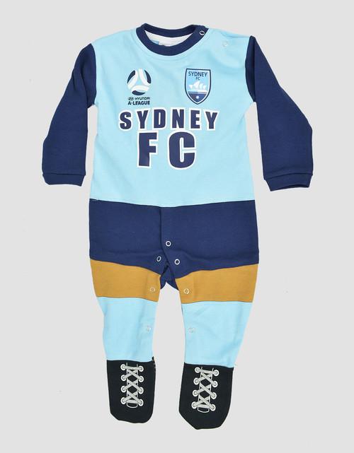 Sydney FC Babies Long Footysuit