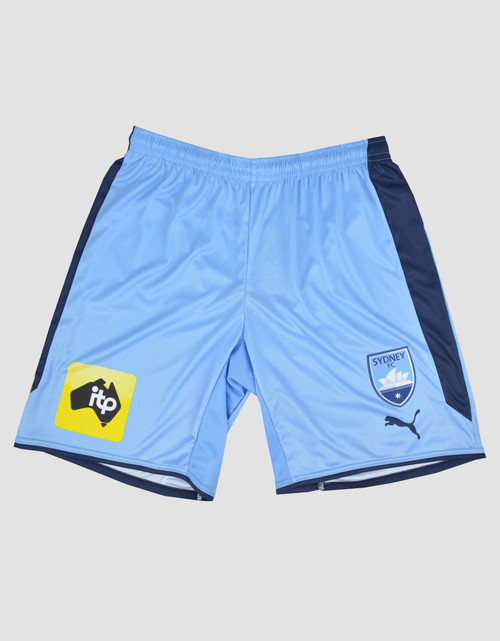 Sydney FC 17/18 Adults FFA Cup Home Shorts