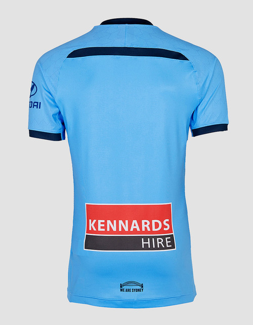 Sydney FC 19/20 UA Players Authentic Home Jersey
