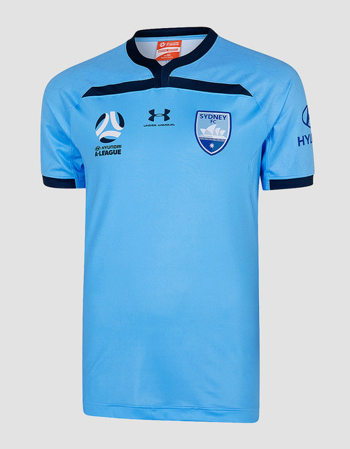 Sydney FC 19/20 UA Players Authentic Home Jersey - Customised