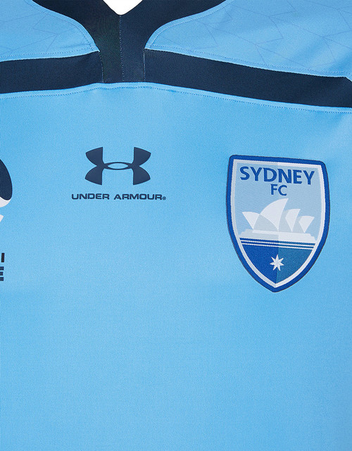 Sydney FC 19/21 UA Players Authentic Home Jersey - Customised