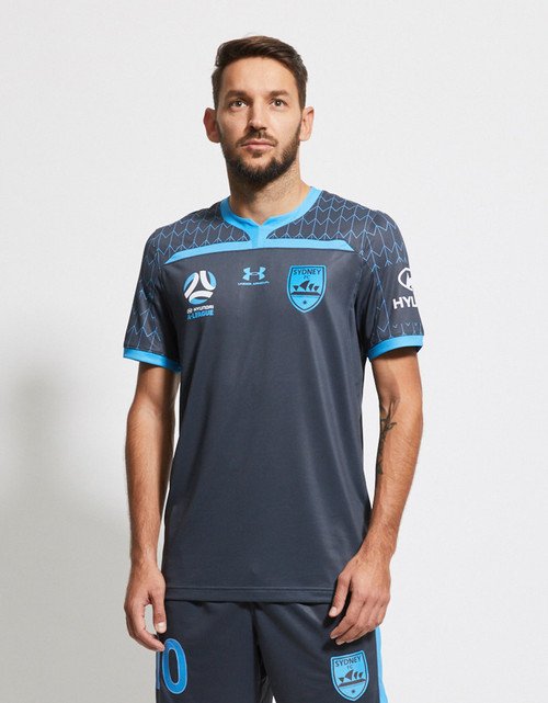 Sydney FC 19/20 UA Youths Third Jersey - Customised